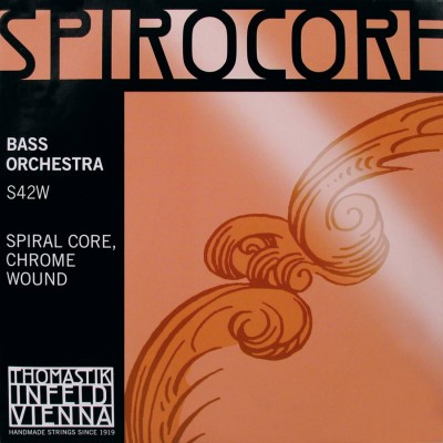 THS42W Thomastik Spirocore double bass string set 4/4