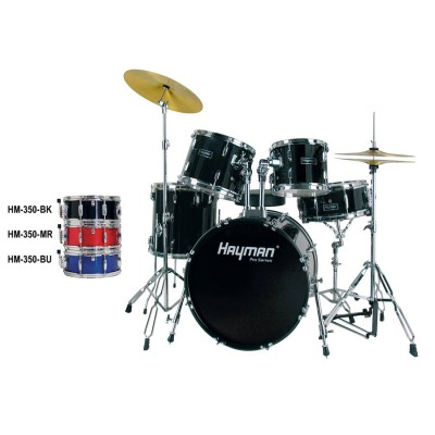 HM350 MR Hayman - Set de tobe